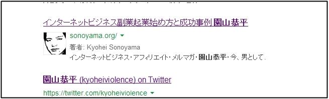 園山恭平 Google著作者情報